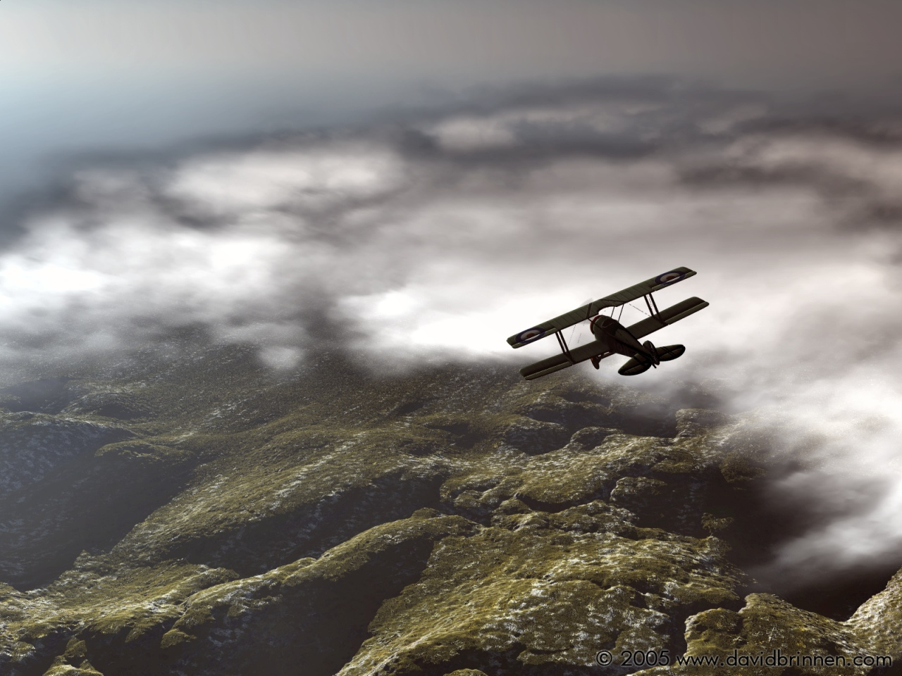 Over the clouds MKII