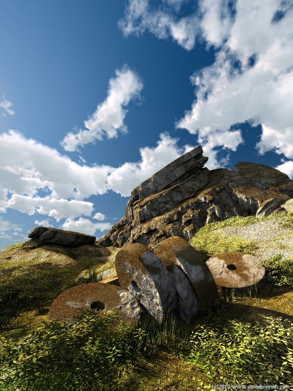 landscape bryce render
