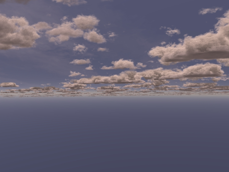 Volumetric Slab Clouds