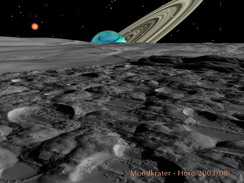 Mondkrater (moon craters)