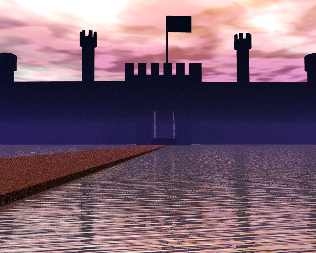 Sunset Castle