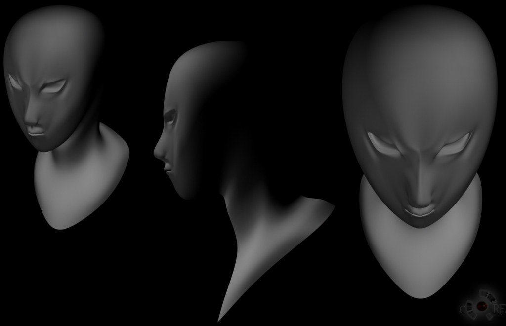 Head Modeling Exercise