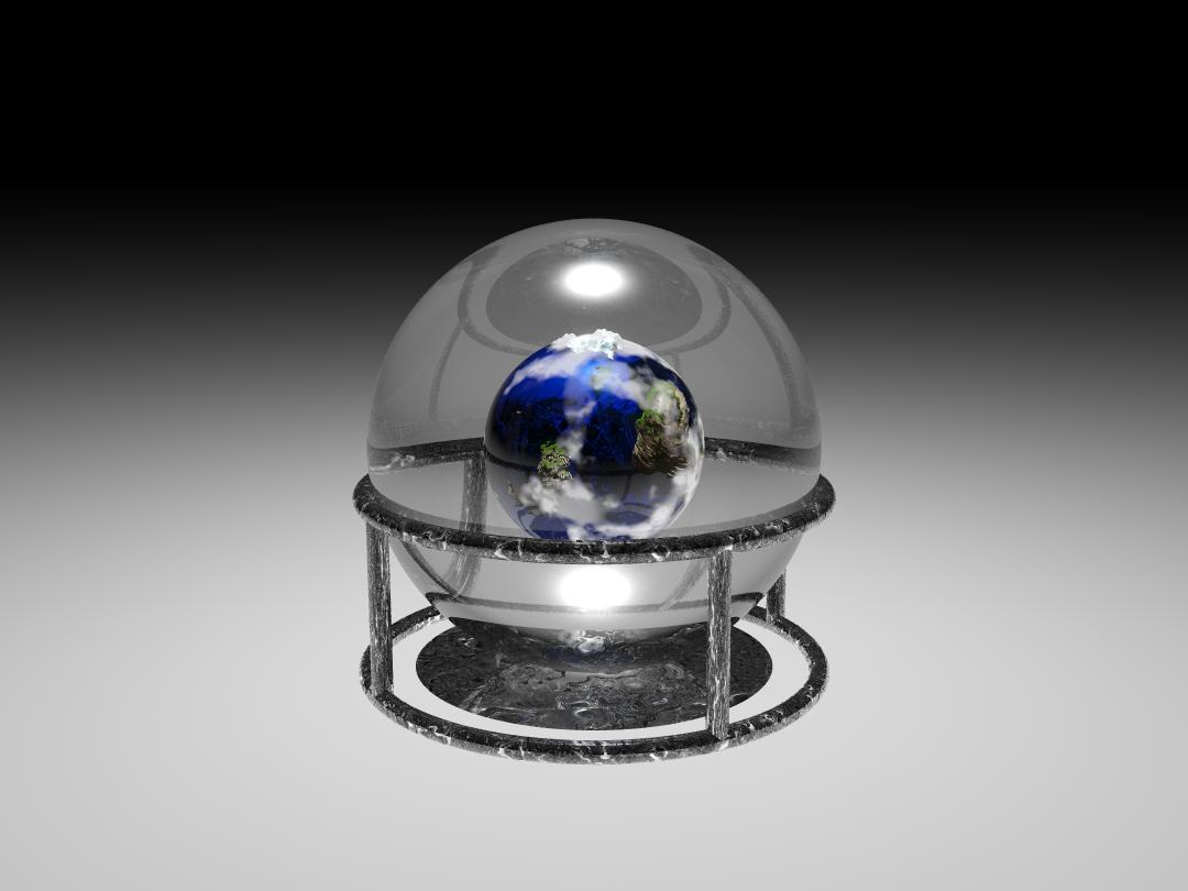The Earth in a Glass Ball