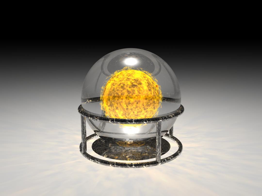 Sol in a Glass Ball