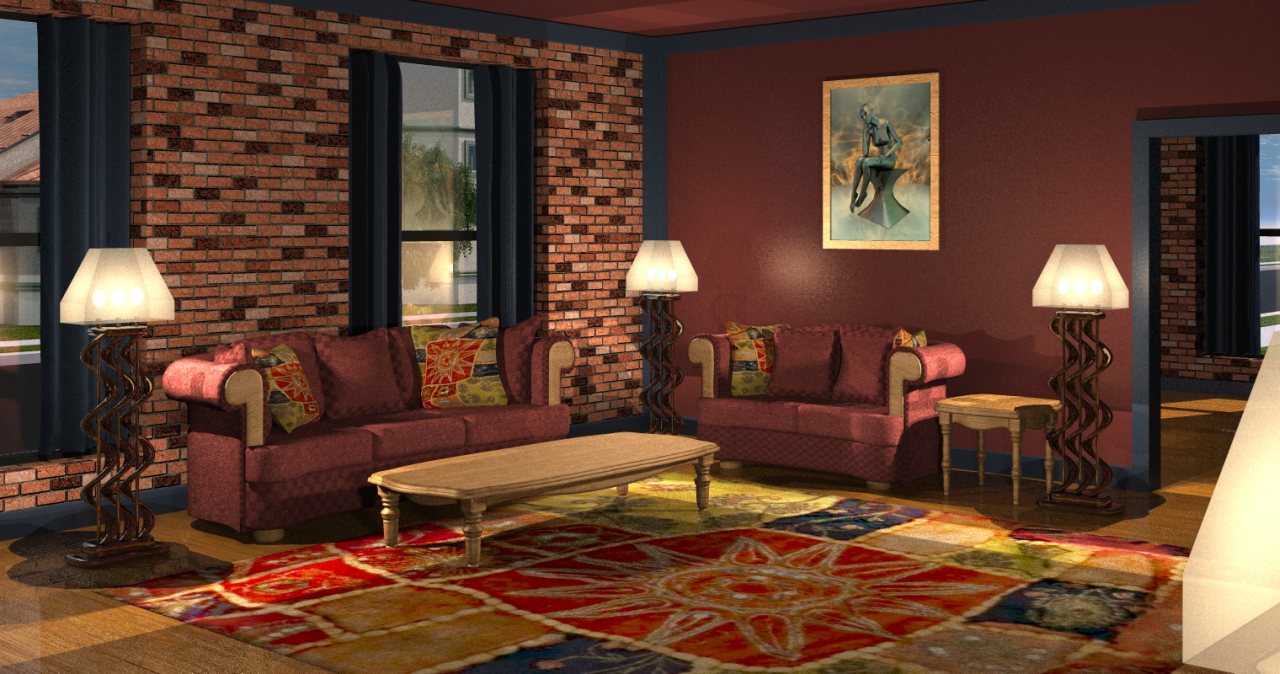 Home media room designs house plans home designs - Theatre room furniture ideas ...