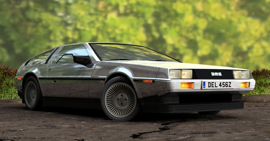 Delorean.