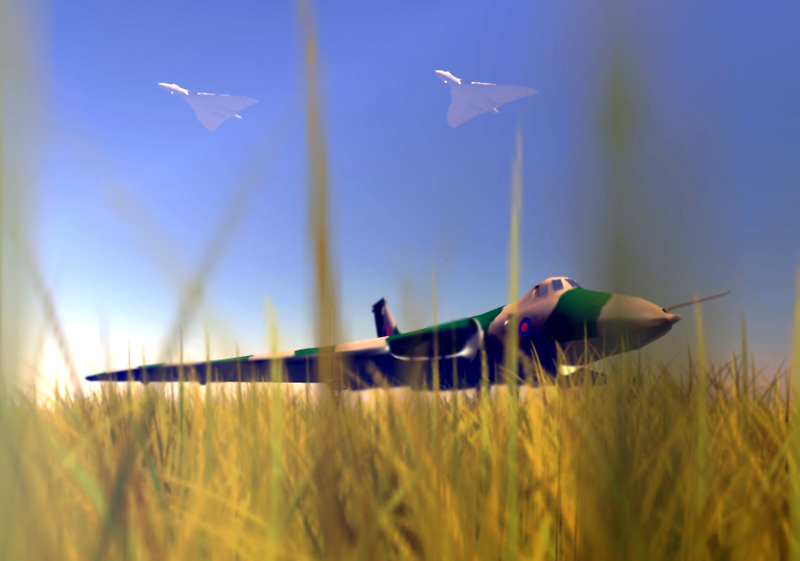Vulcan In The Grass.
