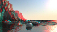 East Coast Anaglyph