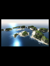 Islands with surf 1