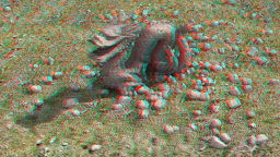 Gritty Dragon Anaglypherized