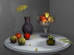 Still life with vases 2