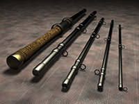 5 Piece Fishing Rod.