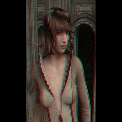 Genesis Anaglyph