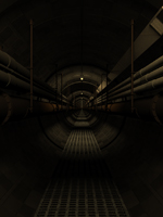Dark Tunnel with Soft Shadows (Fixed)
