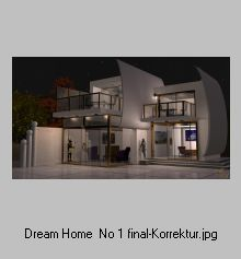 dream home No 1