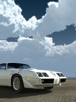 Trans Am under vol clouds