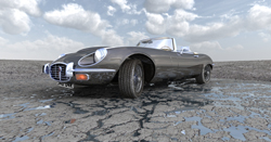 E-Type Jaguar.