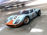 GT40 in the treppenhalle