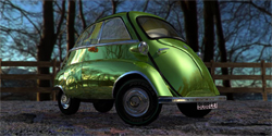 Isetta Bubble Car.